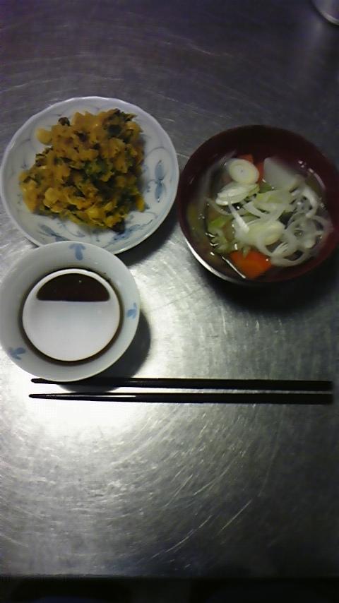 アイヌ料理をつくって食べる。_a0112393_1022999.jpg