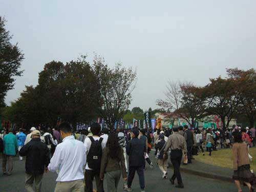 第86回箱根駅伝予選会@立川昭和記念公園_f0178866_1805840.jpg
