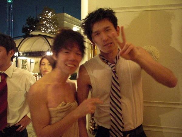 10月3日 マナブ&ユッキー結婚式♪  番外編(笑)_c0151965_18484569.jpg
