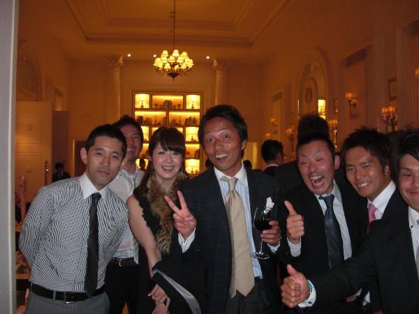 10月3日 マナブ&ユッキー結婚式♪  番外編(笑)_c0151965_1850107.jpg