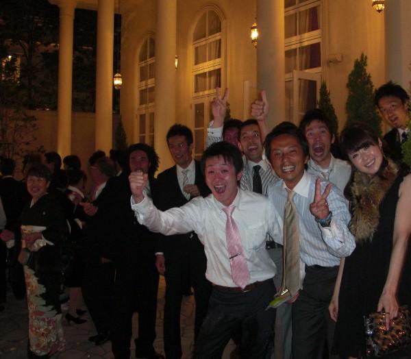 10月3日 マナブ&ユッキー結婚式♪  番外編(笑)_c0151965_18502389.jpg