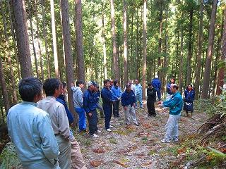 今週の副業型自伐林家養成塾は作業道研修です_e0002820_22103831.jpg