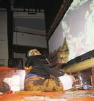 インドネシアのワヤン:Duta Wanara Seta@ディポネゴロ大学創立52周年記念_a0054926_23345380.jpg