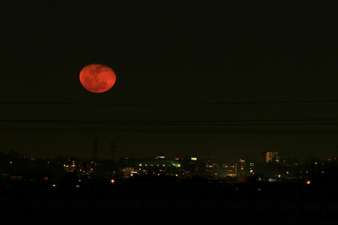 赤い月 : My photo story