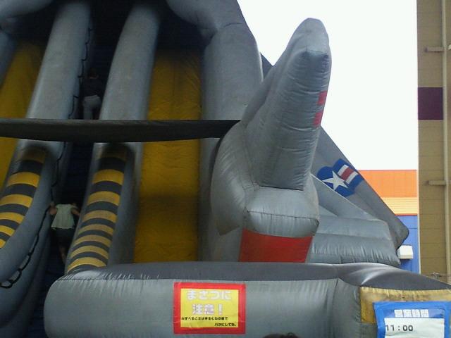 滑り台を滑る我が子の写真_c0001670_21295723.jpg