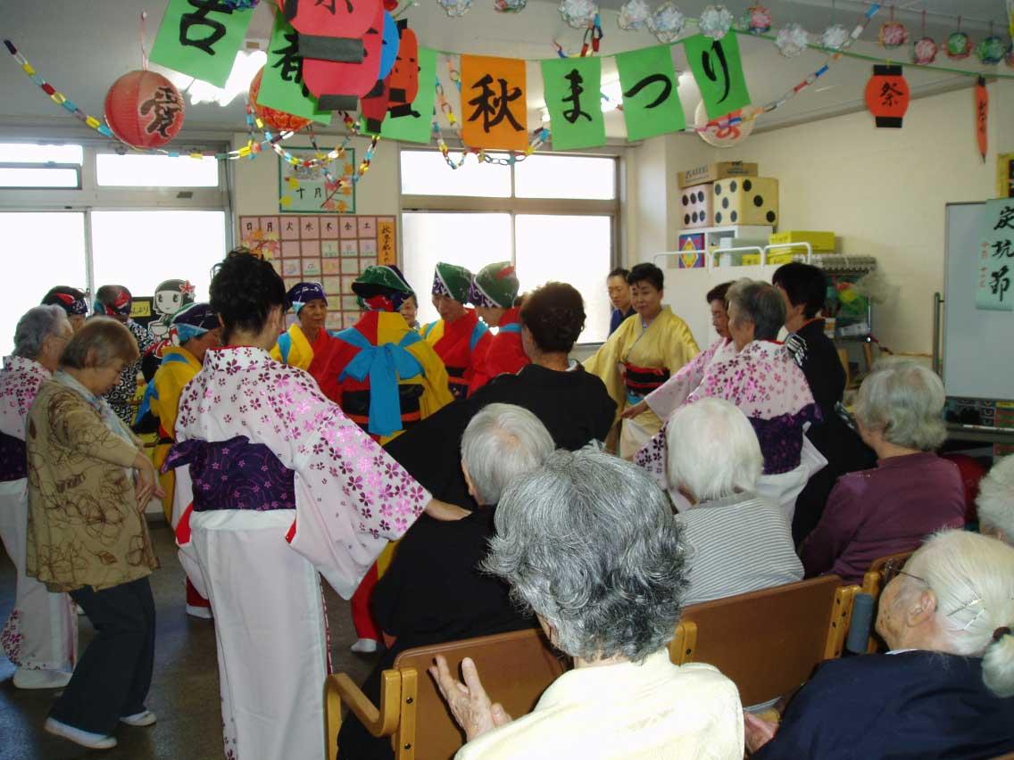 踊りの会(デイ古都里)_a0135191_1141936.jpg