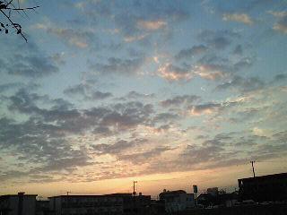 今朝の空_d0091994_7133382.jpg