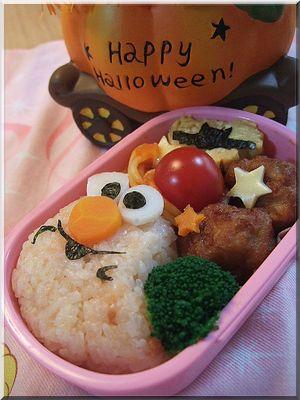 エルモ ハロウイン弁当~と豚の角煮定食♪_b0147722_22294592.jpg