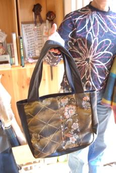 帯と皮で作ったbag_d0127925_22491481.jpg
