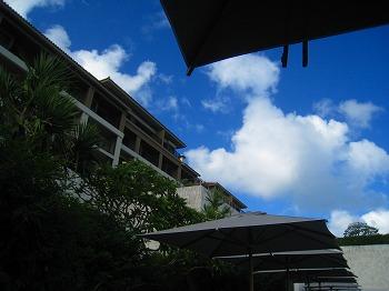 2009年9月 喜瀬別邸 はじめてのプール その1_a0055835_0191458.jpg