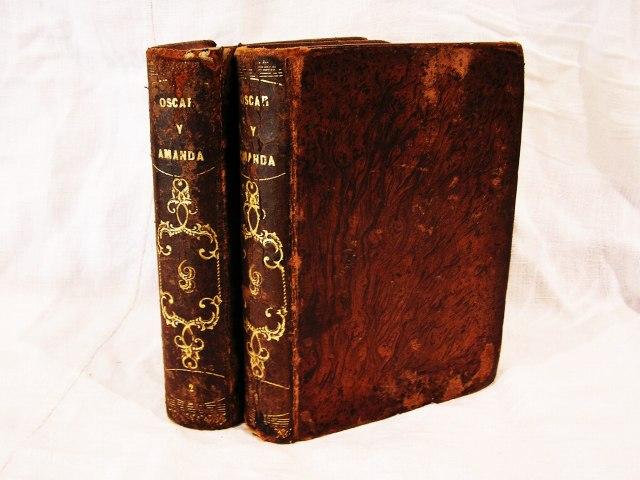 """Book 99  """"Oscar y Amanda""""上下巻 半額以下_f0112550_5483517.jpg"""