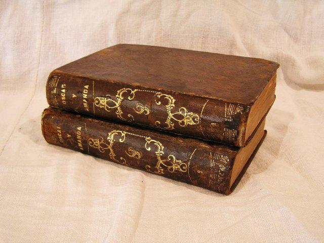 """Book 99  """"Oscar y Amanda""""上下巻 半額以下_f0112550_548721.jpg"""