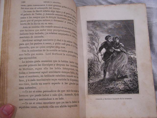 """Book 99  """"Oscar y Amanda""""上下巻 半額以下_f0112550_5505364.jpg"""