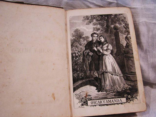 """Book 99  """"Oscar y Amanda""""上下巻 半額以下_f0112550_550941.jpg"""