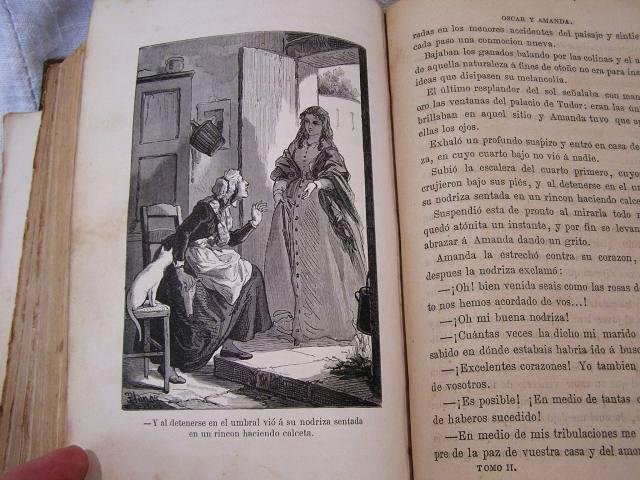 """Book 99  """"Oscar y Amanda""""上下巻 半額以下_f0112550_5515917.jpg"""