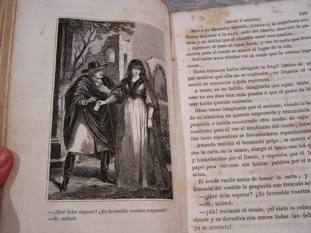 """Book 99  """"Oscar y Amanda""""上下巻 半額以下_f0112550_5572321.jpg"""