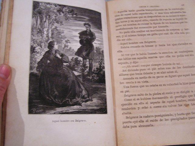 """Book 99  """"Oscar y Amanda""""上下巻 半額以下_f0112550_557969.jpg"""