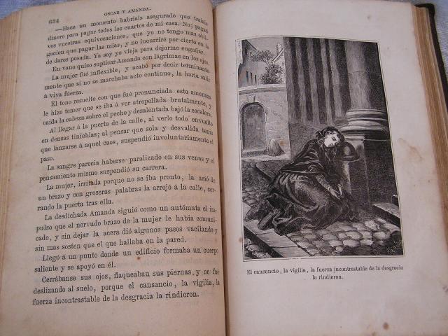 """Book 99  """"Oscar y Amanda""""上下巻 半額以下_f0112550_558083.jpg"""