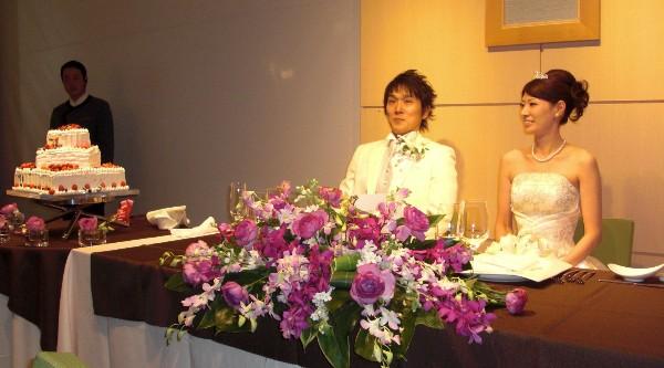 10月12日 小川竜司 & みなこちゃん 結婚式 ④_c0151965_1502262.jpg