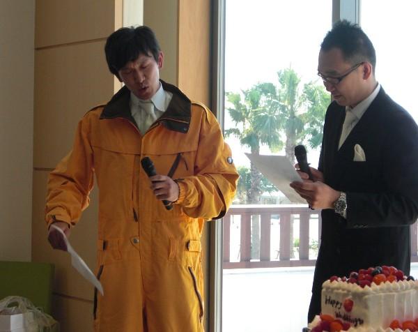 10月12日 小川竜司 & みなこちゃん 結婚式 ④_c0151965_212768.jpg