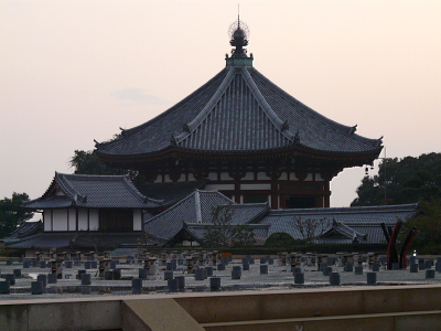 仮金堂から望む南円堂(興福寺)_b0008289_22204266.jpg