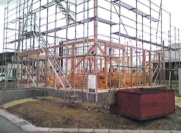 「S邸 桜台の家」 只今、工事中!_f0150893_16475094.jpg