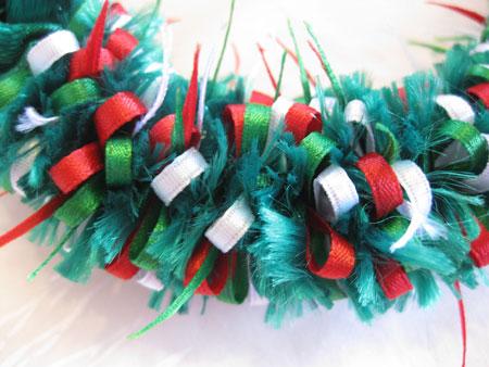 Christmas lei クリスマスレイ_c0196240_1264295.jpg