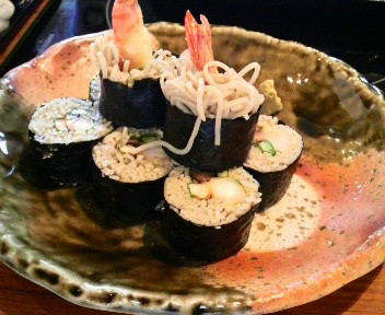 美々卯の 蕎麦寿司_c0185356_85782.jpg