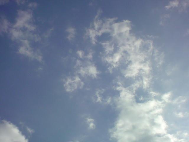 「青空と雲!」_e0051174_7485411.jpg