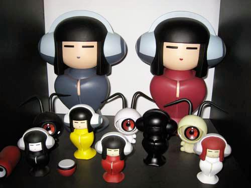 東京プラスチック発、赤と黒のコグマがやって来る。_a0077842_17205321.jpg
