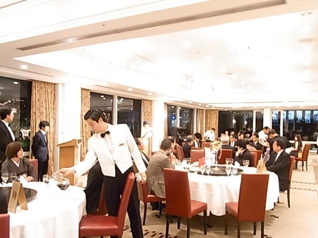 ホテルオークラ、彫王酒の宴会に現た大物!!_f0070743_18453664.jpg