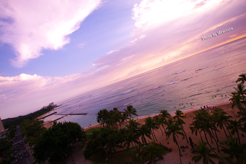 日が沈む頃 -World of 16 in Hawaii-_e0140159_23255438.jpg