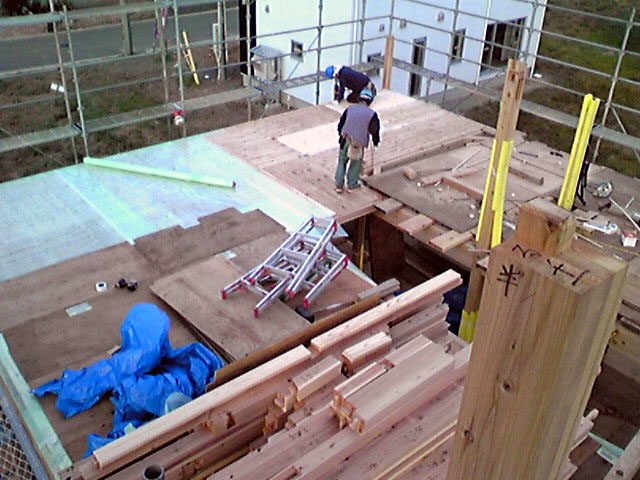 「S邸 桜台の家」 工事中! _f0150893_1728483.jpg