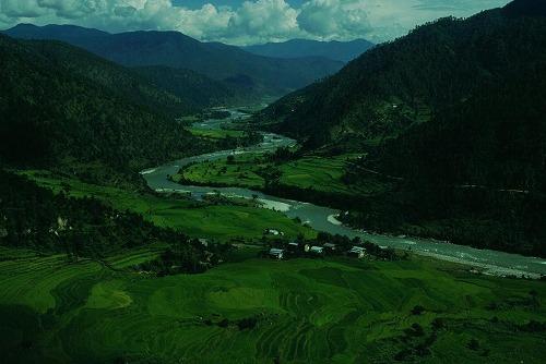 ブータンの農村_c0124100_16575698.jpg