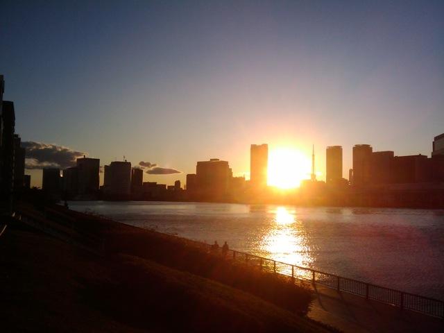 夕日の写真です。_e0142672_6574468.jpg