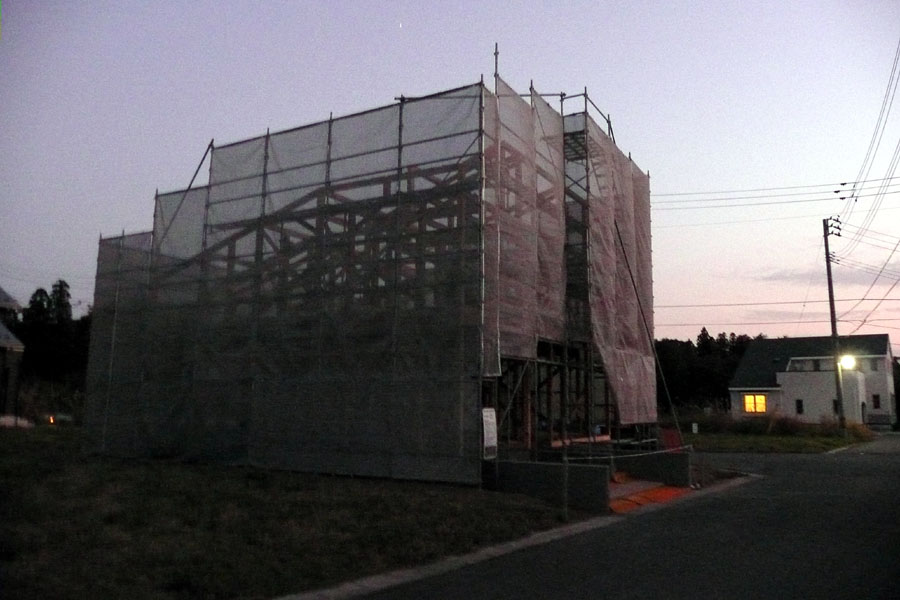 「S邸 桜台の家」 工事中! _f0150893_1629174.jpg