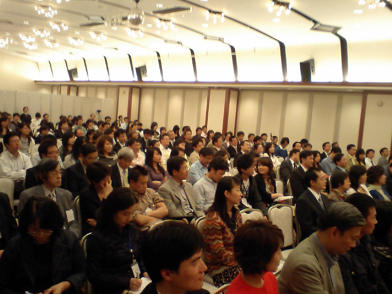 加藤紘一先生講演会東京で開催写真その7_d0027795_1658642.jpg