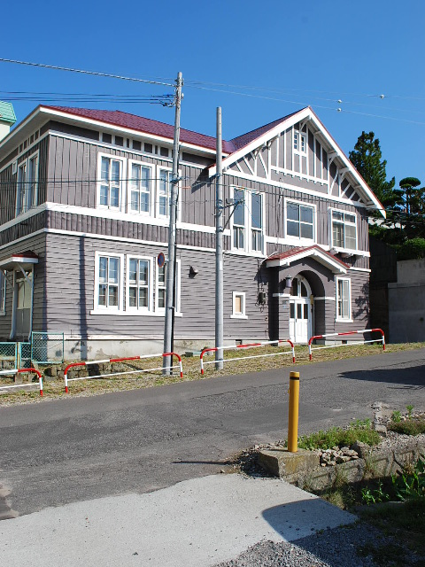 函館元町の高橋病院天使寮(函館の建築再見)_f0142606_814555.jpg
