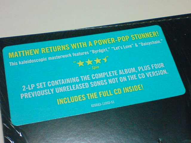 Sunshine Lies / Matthew Sweet_c0104445_22465137.jpg