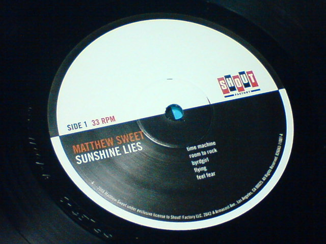 Sunshine Lies / Matthew Sweet_c0104445_22472217.jpg