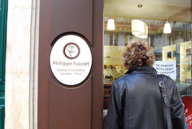パリのチョコラティエ 「フィリップ・パスコエット」_c0122889_10523011.jpg