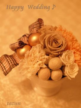 wedding gift♪_d0144095_13565712.jpg