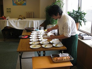 フランス料理お食事会<アクティブライフ芦屋>_c0107602_15375682.jpg