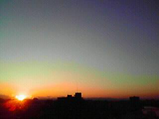 ☆陽が落ちる。。_a0120325_1714637.jpg