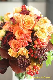 幸せ一杯の秋色のウェディング_d0113182_11113823.jpg