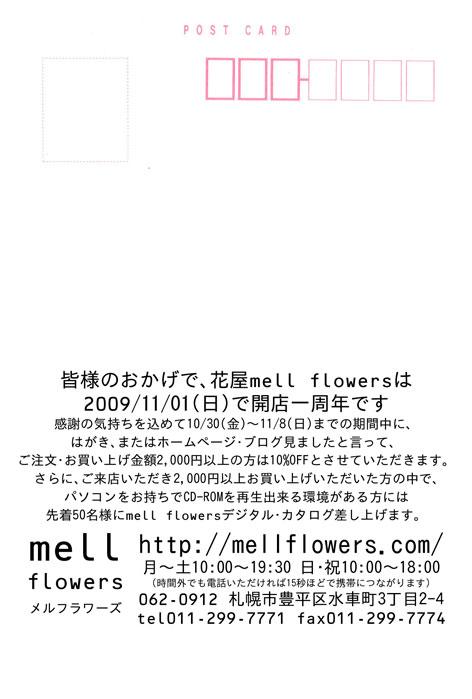 11/01(日)で1周年!10/30(金)~11/08(日)10%OFF_b0171193_1802661.jpg
