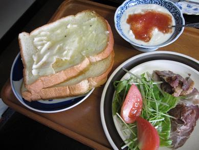 喫茶のお昼 (賄いバージョン)_f0017696_1575291.jpg