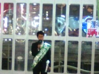 【広島県知事選】ゆざき英彦候補in front of 福山駅_e0094315_2123010.jpg