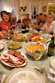 Family dinner_e0103024_159396.jpg