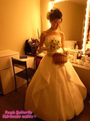 BLUE NOTE♪ JAZZ WEDDING☆_c0043737_20363653.jpg